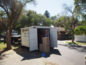Pack at your own pace when using mobistorage for removals Perth.