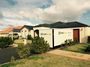 mobistorage containers are delivered to your front door for easy removals in Perth suburbs.